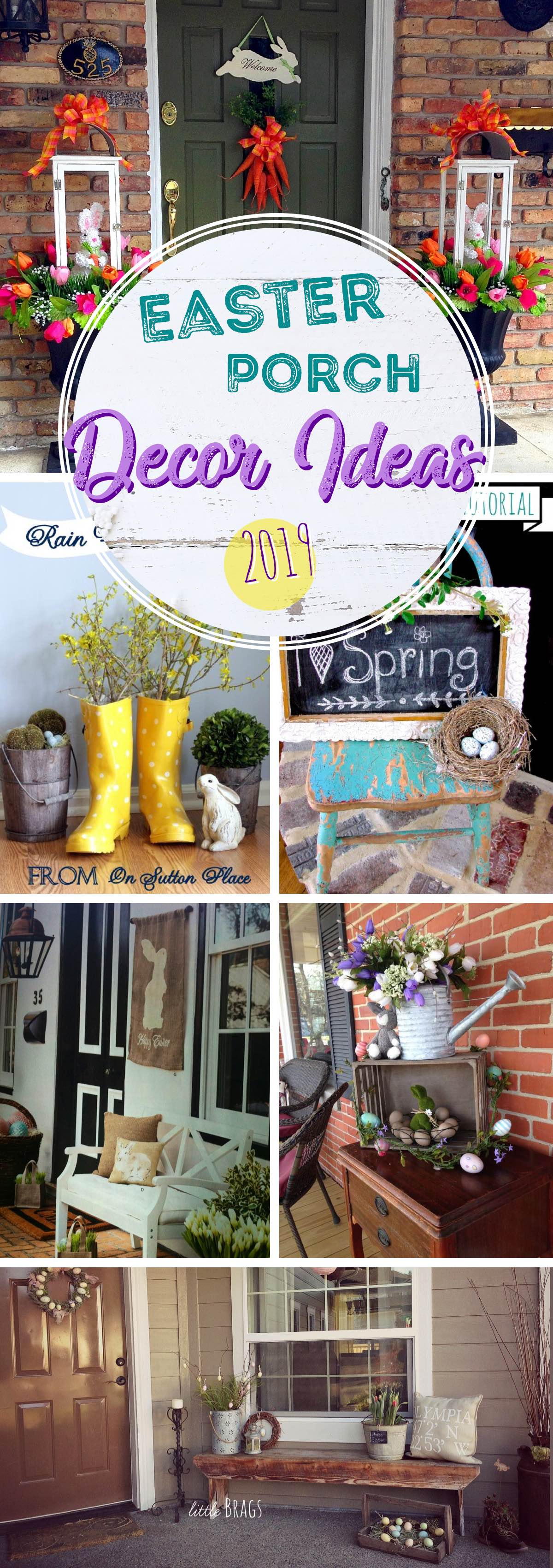 Incredible Easter Porch Decor Ideas