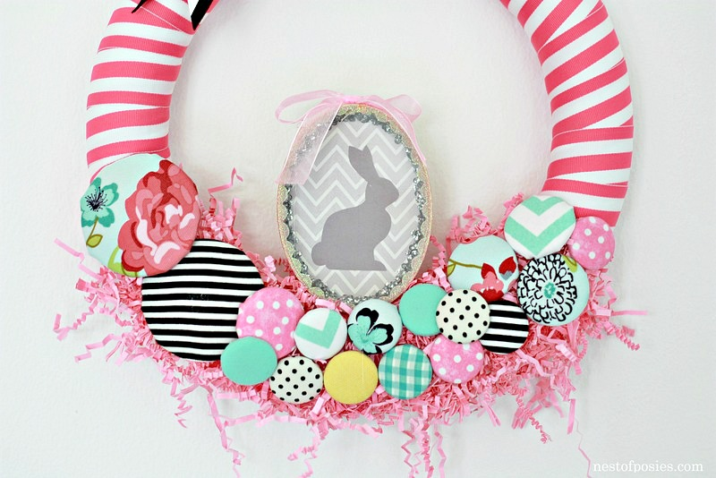 Parade Themed Easter Wreath