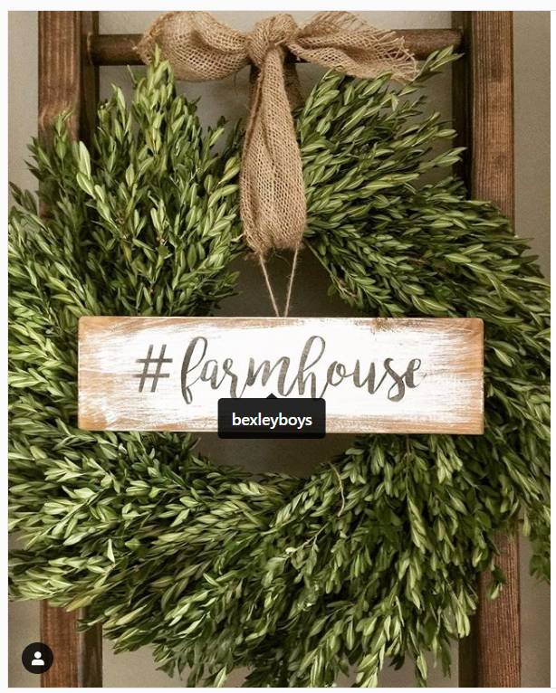 Rich Leafy Farmhouse Wreath