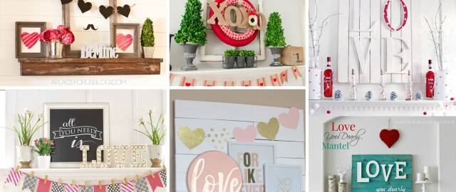 18 Valentine S Day Mantle Decor Ideas Worthy Of Falling In Love With
