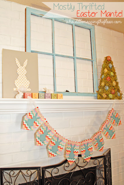 Cute Bunting and Easter Eggs