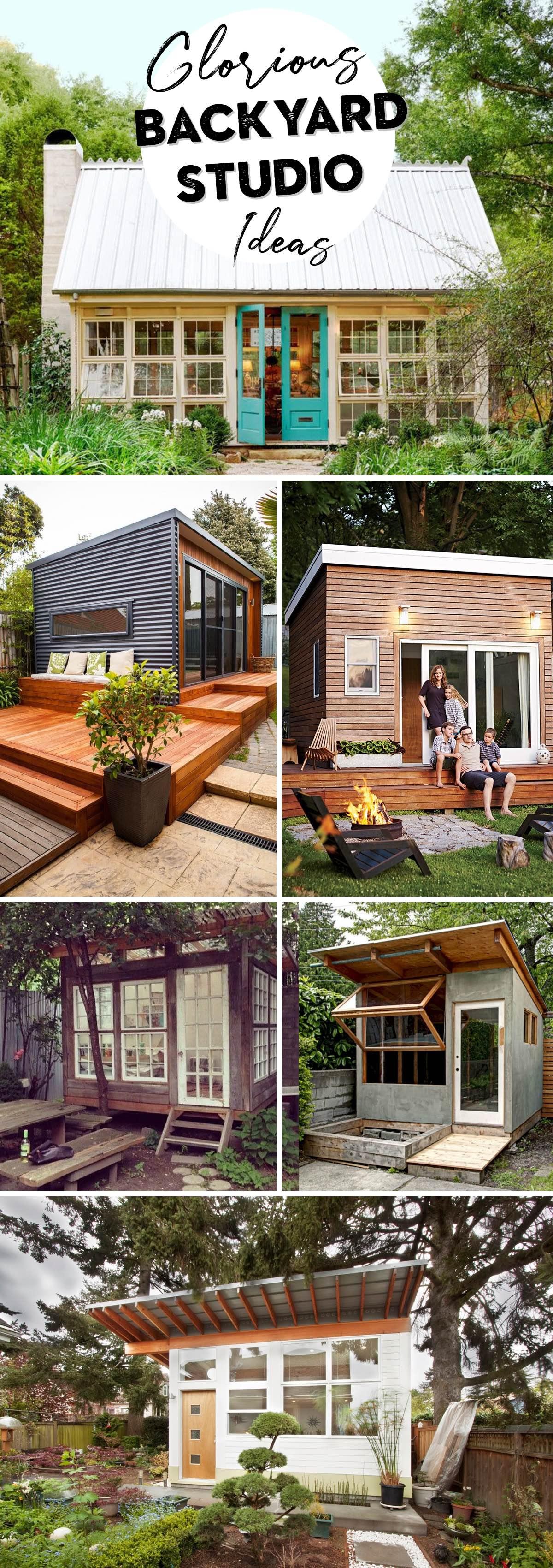 Glorious Backyard Studio Ideas