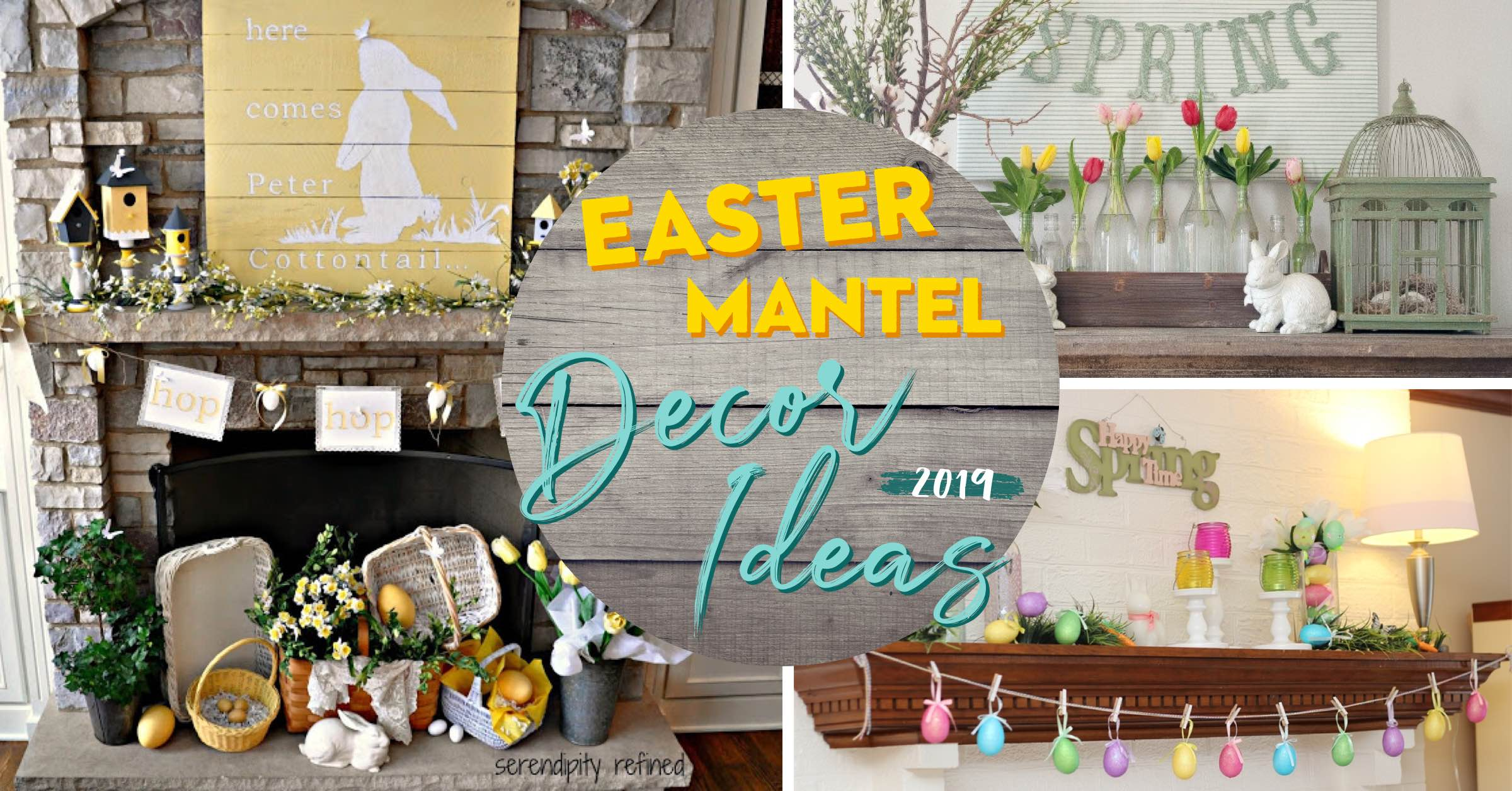 19 Easter Mantel Decor Ideas That Will Make Things Festive Perfect