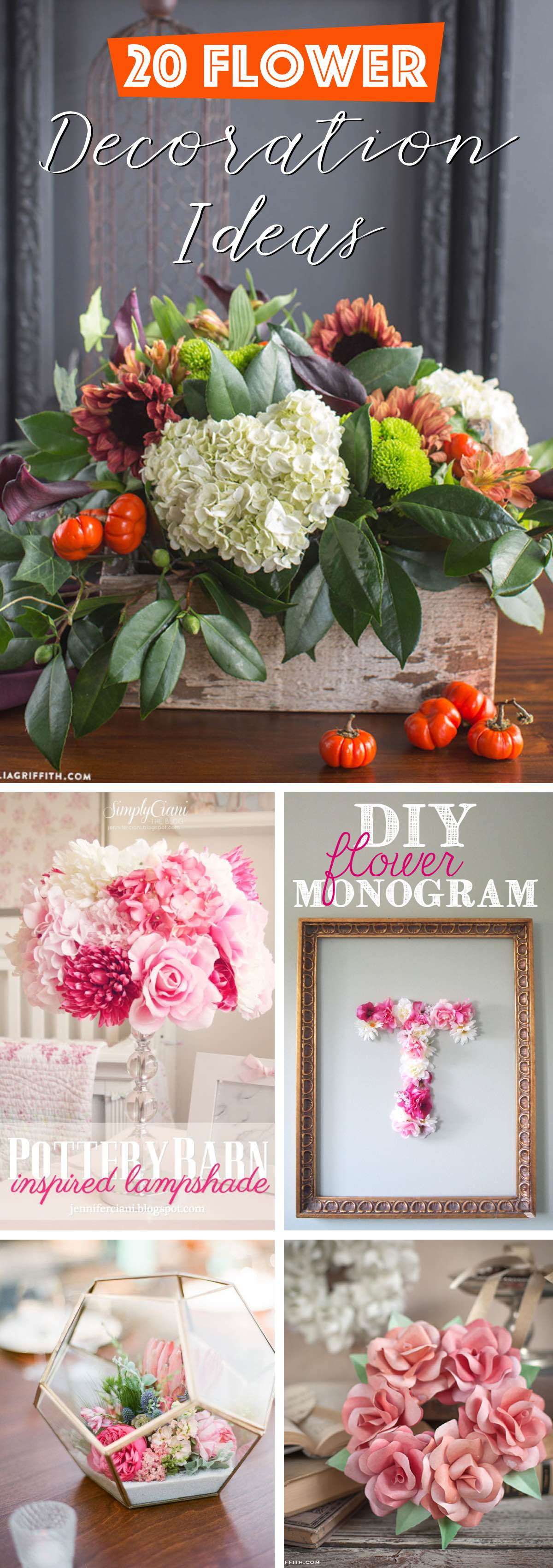 20 Flower Decoration Ideas