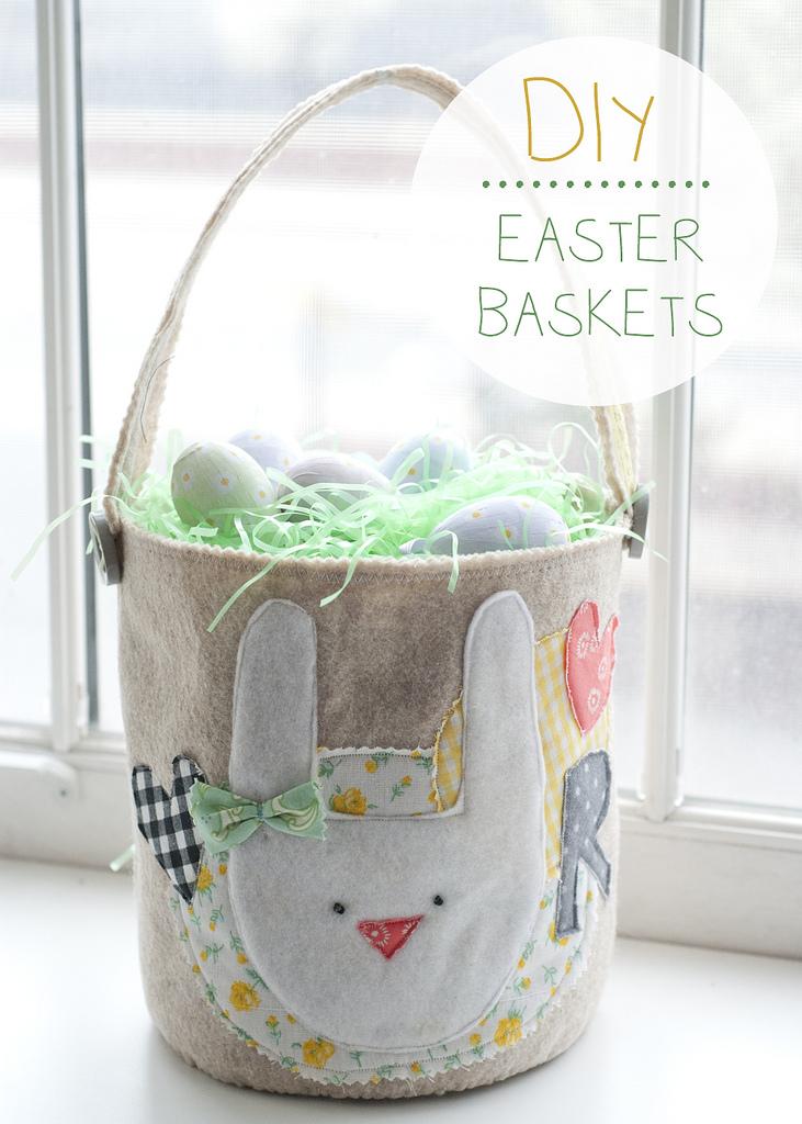 DIY Bunny Inspired Easter Baskets