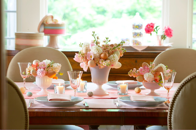 Flower Show Centerpiece: Styling An Easter Table