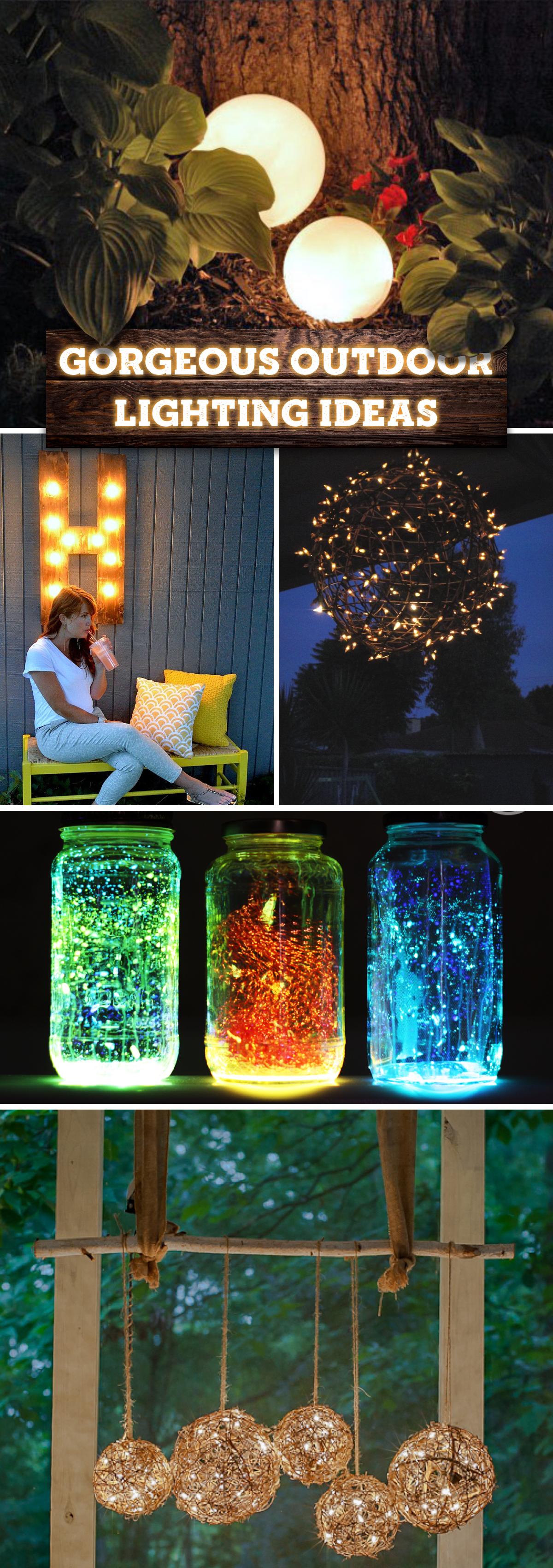 Gorgeous Outdoor Lighting Ideas