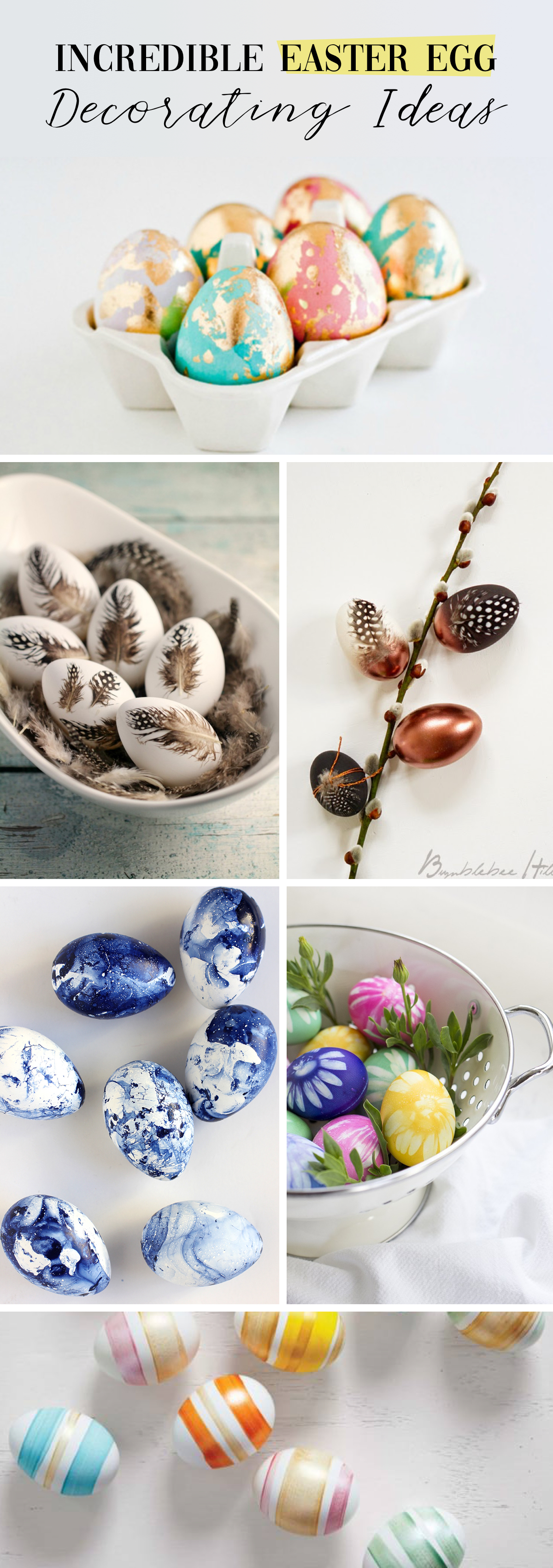 Incredible Easter Egg Decorating Ideas