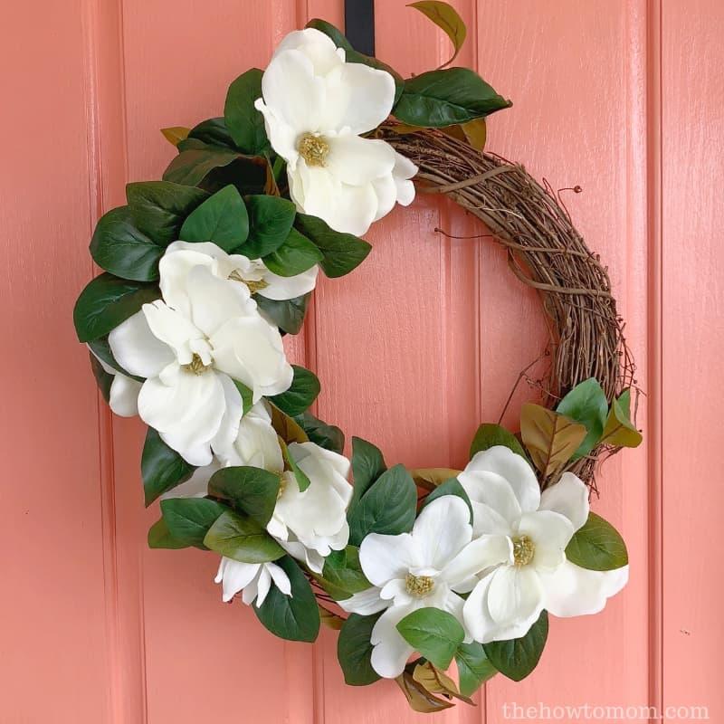 Magnolia Wreath DIY