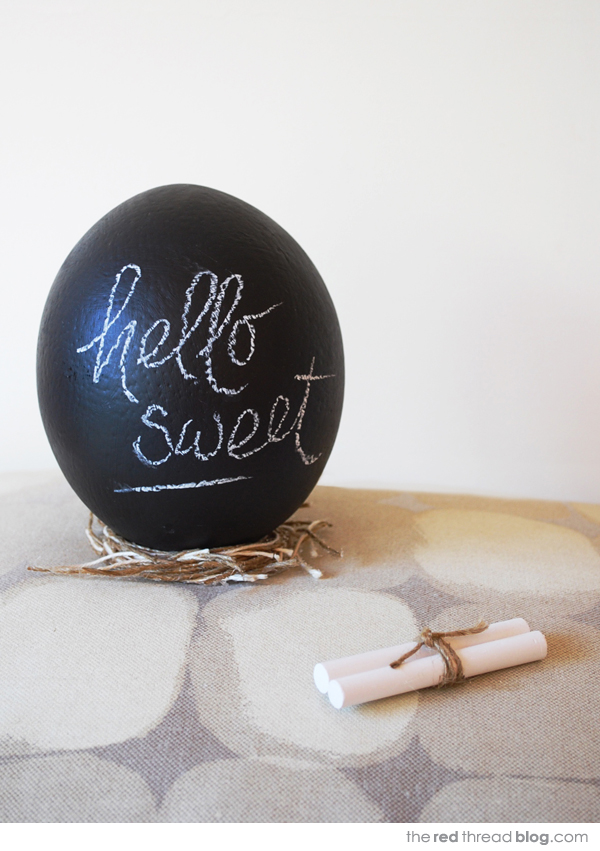 Make it Yourself : Chalkboard Eggs