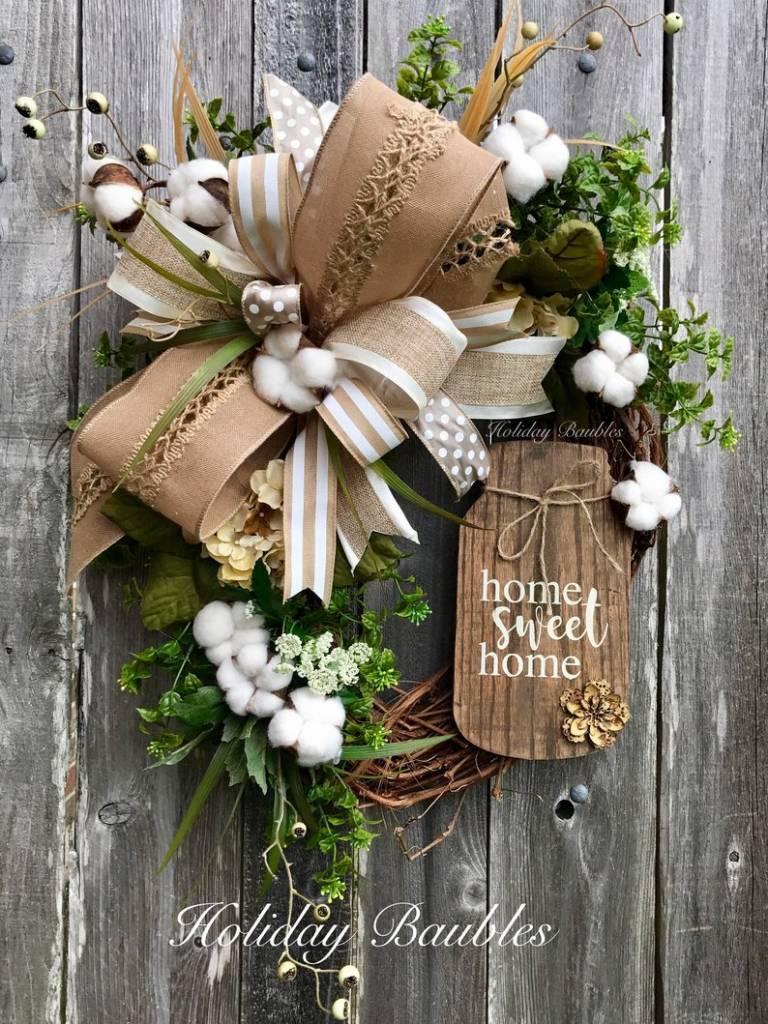 The Gorgeous Farmhouse Wreath