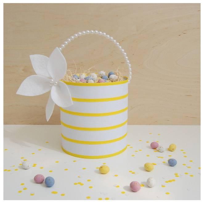 Upcycled Easter Basket