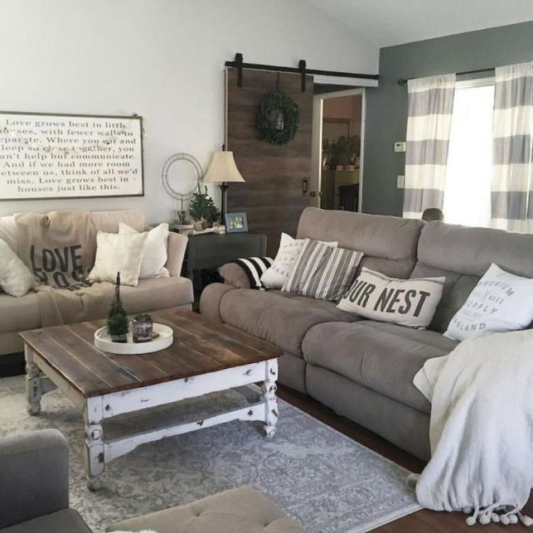 These 20 Farmhouse Living Room Decor And Design Ideas Are Simply Breathtaking