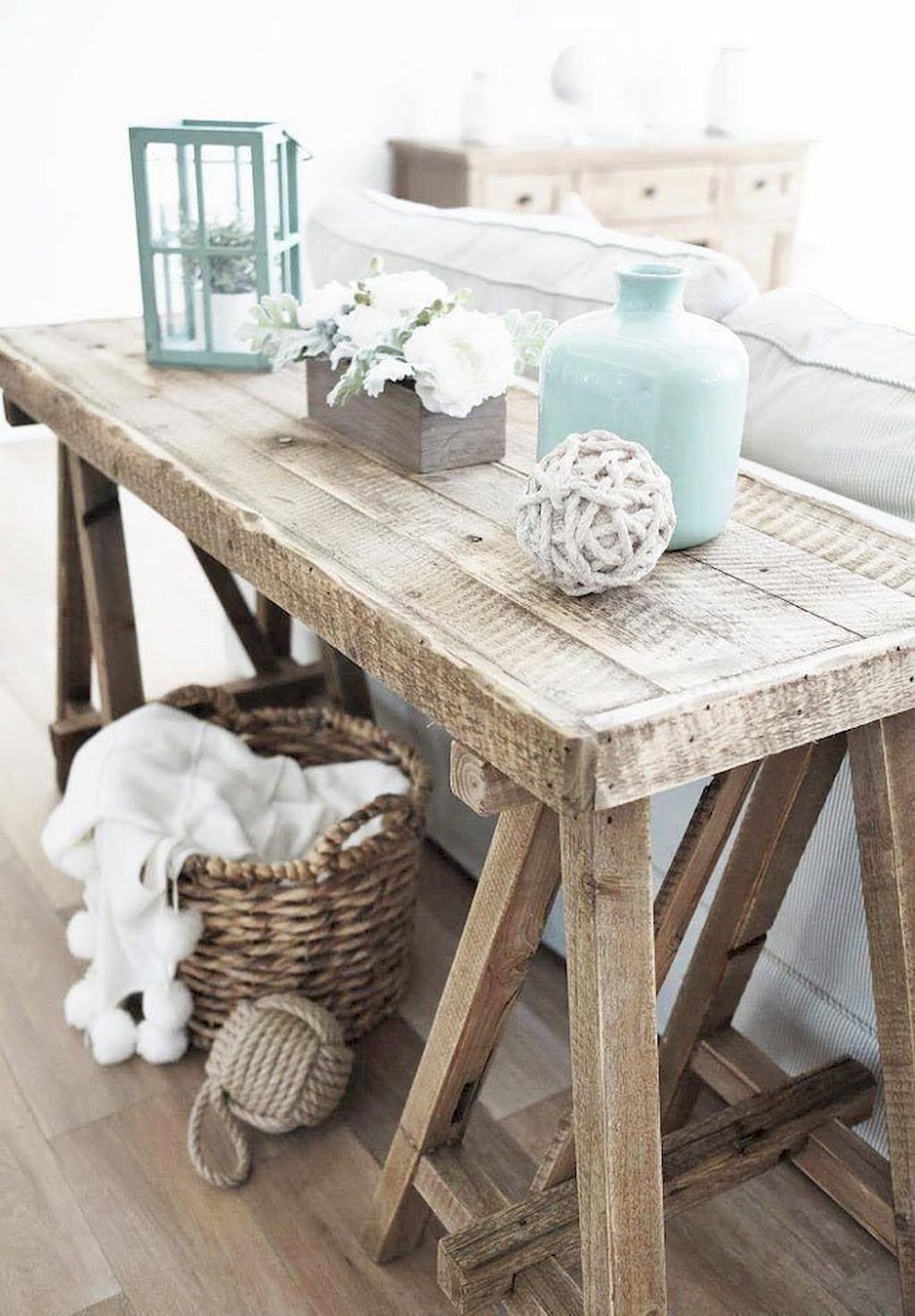 Natural Wood Table Decor