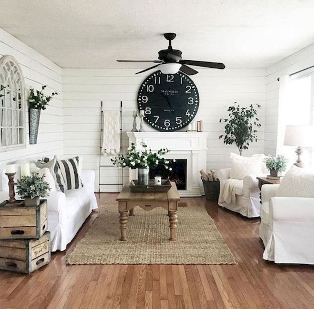 These 20 Farmhouse Living Room Decor And Design Ideas Are
