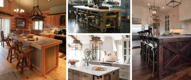 14 Rustic Kitchen Island Ideas Keeping It Earthy And Charming