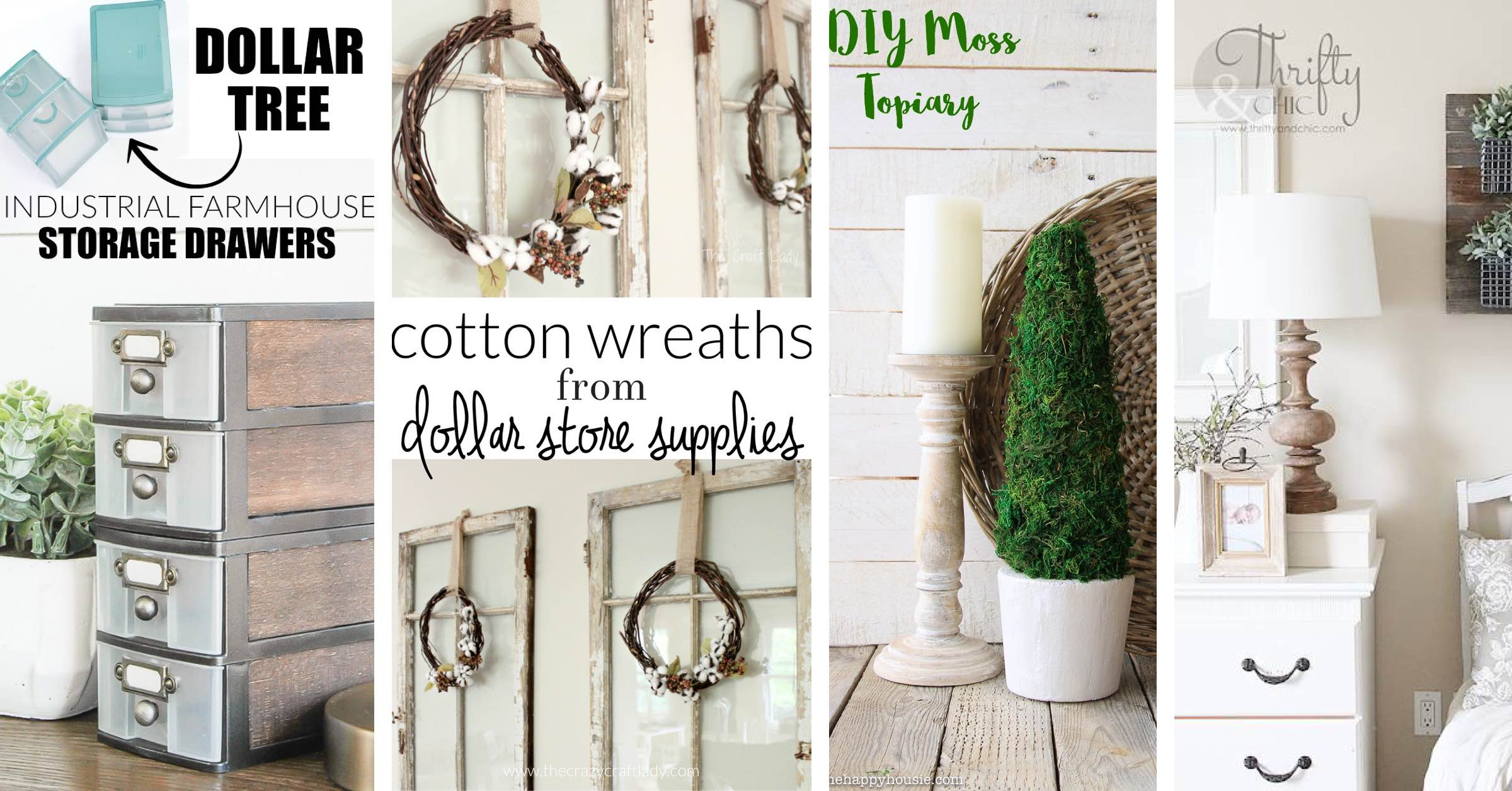 These Stunning Dollar Tree Farmhouse Decorations Are True Gorgeousness