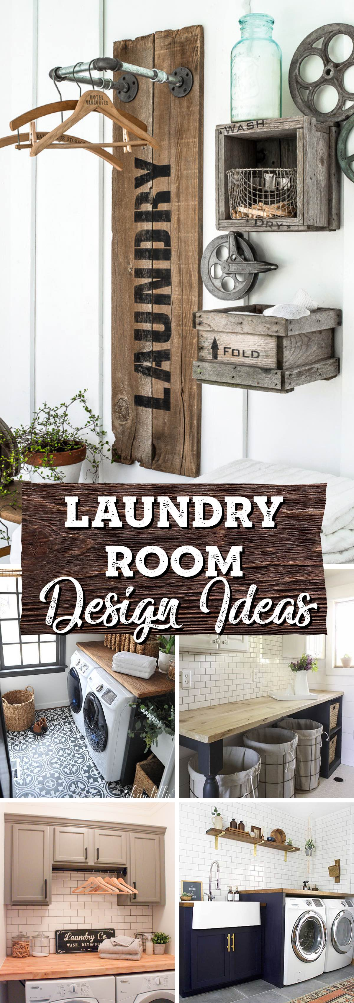 Incredible Laundry Room Design Ideas