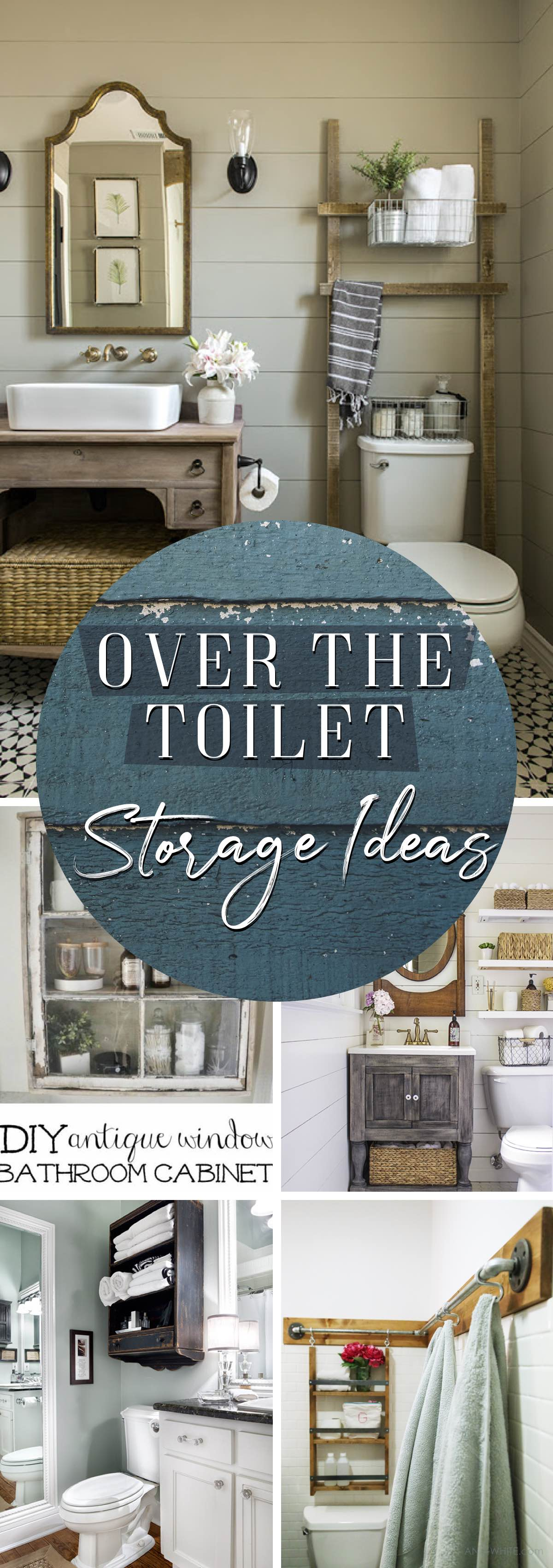 best Over The Toilet Storage Ideas