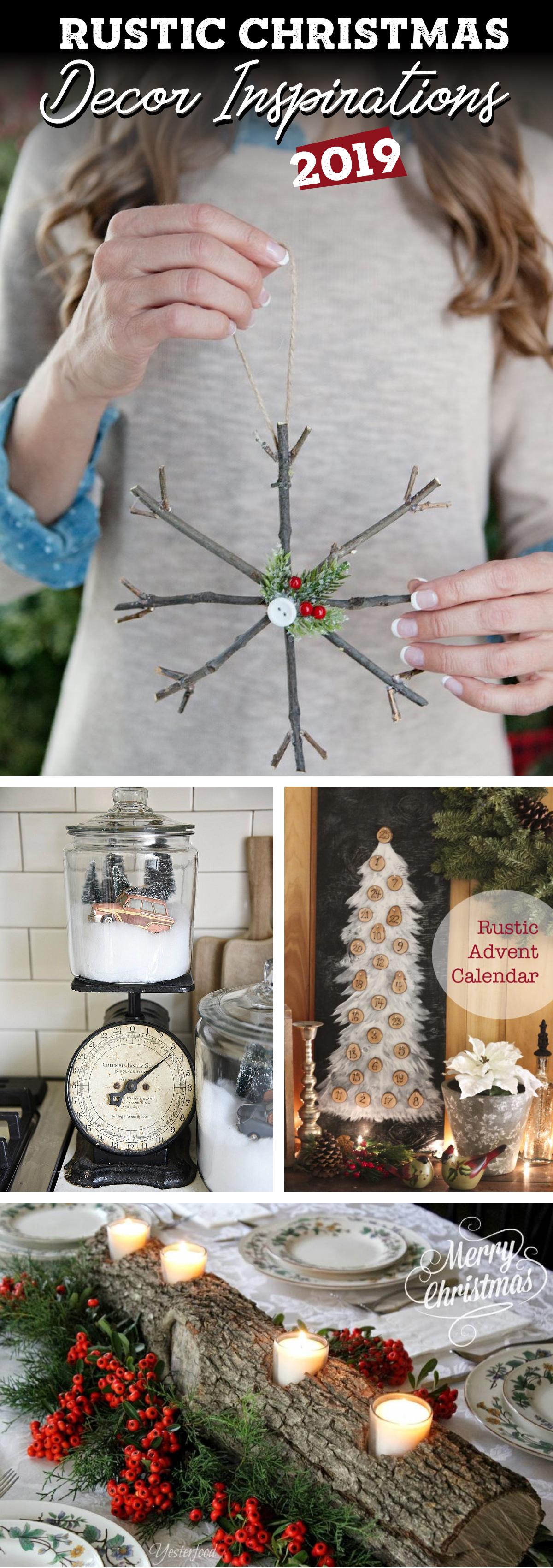 Fabulous Rustic Christmas Decor Inspirations