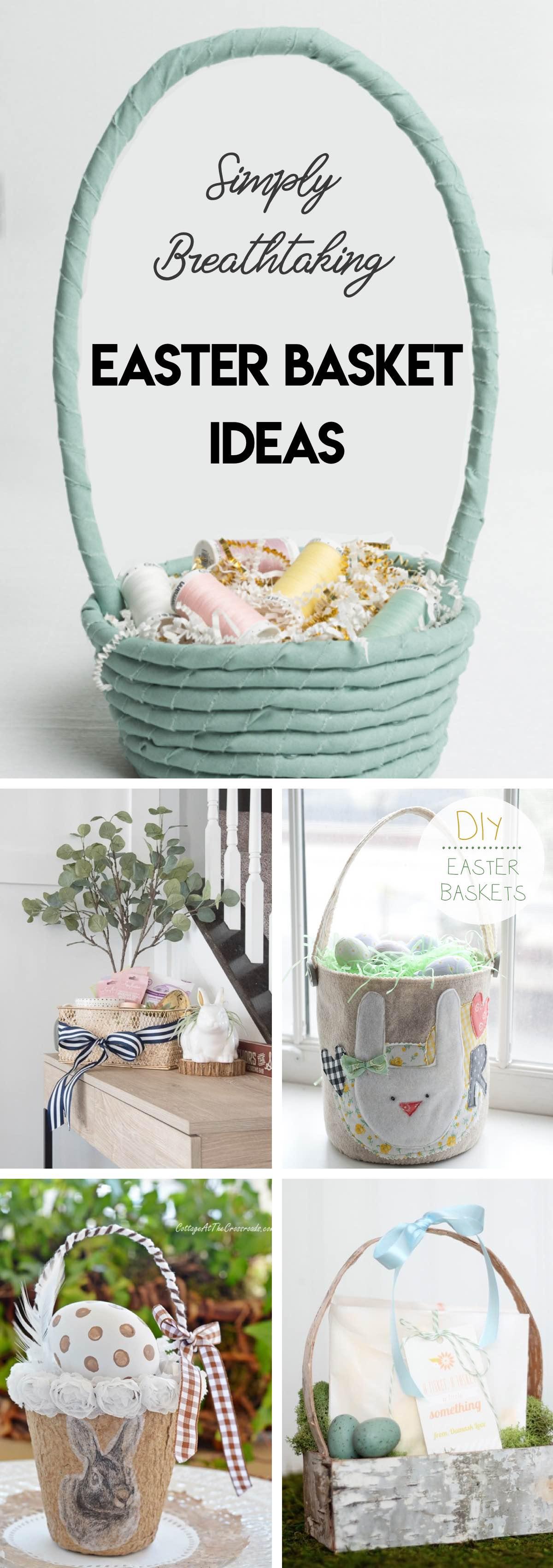 20 Simply Breathtaking Easter Basket Ideas